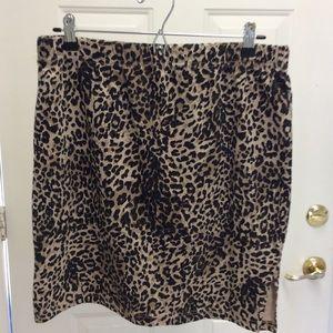 🐆Newport News Animal Print Pencil Skirt